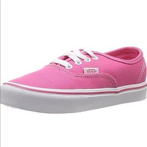 Vans Authentic Lite Hot Pink/White Sneakers